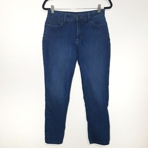 Not Your Daughter's Jeans blue ankle skinny jeans